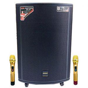 Loa kẹo kéo karaoke bluetooth Temeisheng GD1519 - Hàng nhập khẩu