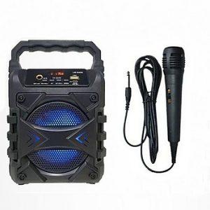 Loa karaoke mini kèm mic