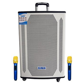 Loa kẹo kéo karaoke bluetooth Alokio AL-T95 - Hàng nhập khẩu