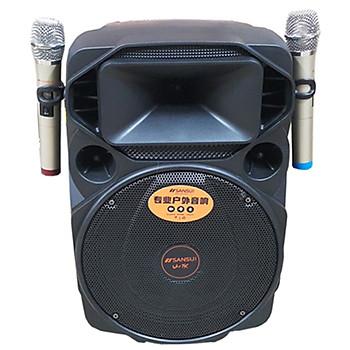 Loa kẹo kéo karaoke bluetooth di động Sansui A12-66 - Hàng nhập khẩu