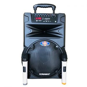 Loa kẹo kéo karaoke bluetooth Ronamax N12 - Hàng chính hãng