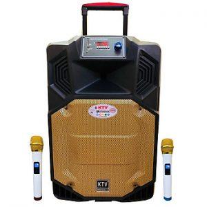 Loa kẹo kéo karaoke bluetooth di động KTV SS1-15 - Hàng chính hãng