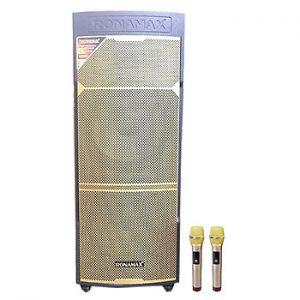 Loa kẹo kéo karaoke bluetooth Ronamax MD15A - Hàng chính hãng
