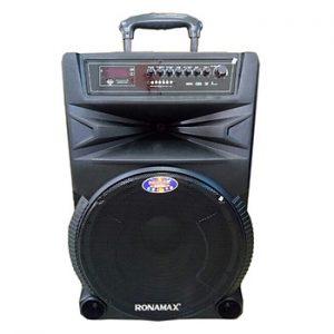 Loa kẹo kéo karaoke bluetooth Ronamax N15 - Hàng chính hãng