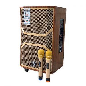 Loa kẹo kéo karaoke bluetooth KTV GD 12-13 - Hàng chính hãng