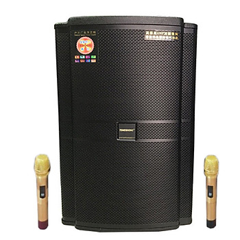 Loa kẹo kéo karaoke bluetooth Temeisheng GD 15-20 - Hàng nhập khẩu