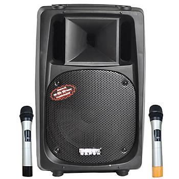 Loa kẹo kéo karaoke bluetooth Temeisheng DP-2398T - Hàng nhập khẩu