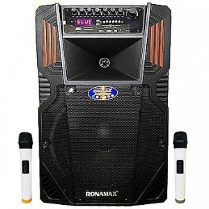 Loa kẹo kéo karaoke bluetooth Ronamax F12 - Hàng chính hãng