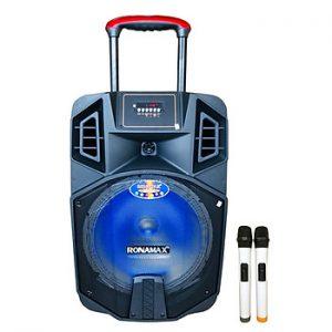 Loa kẹo kéo karaoke bluetooth Ronamax K12 - Hàng chính hãng