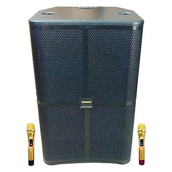 Loa kẹo kéo karaoke bluetooth Temeisheng GD1515 - Hàng nhập khẩu