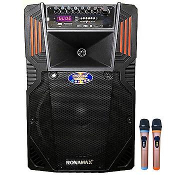Loa kẹo kéo karaoke bluetooth Ronamax F15 - Hàng chính hãng