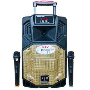 Loa kẹo kéo karaoke bluetooth di động KTV SS1-08 - Hàng chính hãng