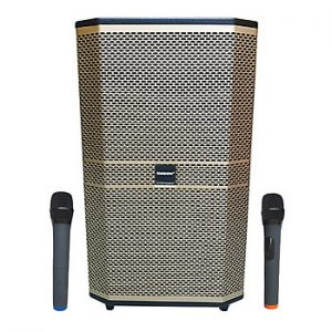 Loa kẹo kéo karaoke bluetooth di động Temeisheng ED-1506 - Hàng nhập khẩu