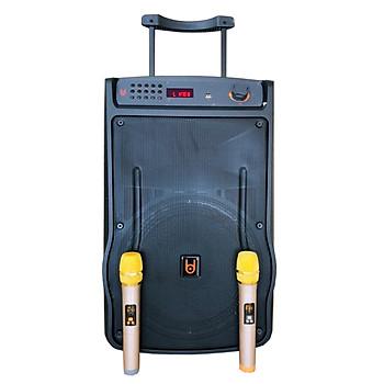 Loa kẹo kéo karaoke bluetooth BD H1268 - Hàng nhập khẩu