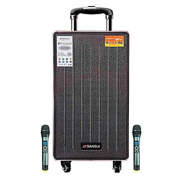Loa kẹo kéo karaoke bluetooth Sansui SG4-12 - Hàng nhập khẩu