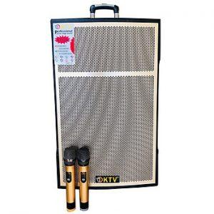 Loa kẹo kéo karaoke bluetooth di động KTV SG3-15 - Hàng chính hãng