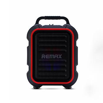 Loa Karaoke Bluetooth Remax RB-X3 có quai xách tặng kèm 1 Micro không dây - Hàng Chính Hãng
