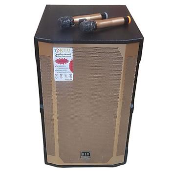 Loa kẹo kéo karaoke bluetooth KTV GD 15-13 - Hàng chính hãng